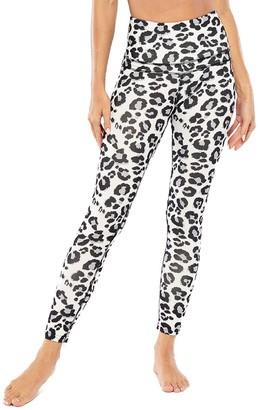 Electric Yoga Leopard-Print High-Rise Leggings
