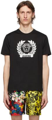 Versace SSENSE Exclusive Black Laurel Medusa T-Shirt