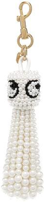 Anya Hindmarch Pearl-Embellished Keyring