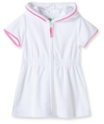 Little Me Baby Girls Zipper Front Cover Up