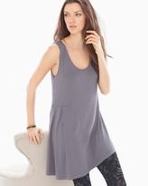 Soma Intimates Side Drape Tunic Excalibur Grey