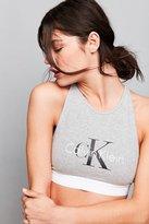 Calvin Klein Retro Logo High Neck Bra