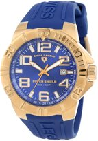 Swiss Legend Men's 40117-YG-03 Super Shield Dial Silicone Watch