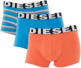 Diesel 3 Pack Shawn Plain And Stripe Trunk