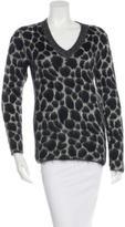 Gucci Cheetah Print Mohair Sweater w/ Tags