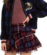 Tommy Hilfiger Tartan Frill Kilt Mini Skirt