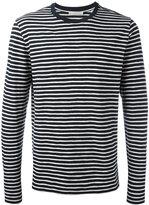 Vince striped sweatshirt - men - Cotton - M