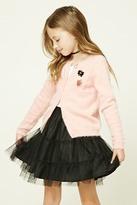 FOREVER 21 girls Girls Tiered Mesh Skirt (Kids)