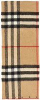 Burberry Kids' Cashmere Check Snood, Camel