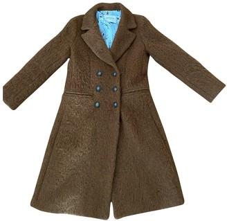 Atelier Parisien Brown Wool Coat for Women