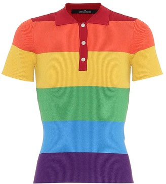 Rokh Striped polo shirt