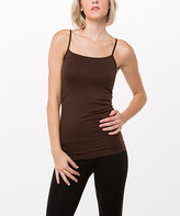 Brown Seamless Camisole
