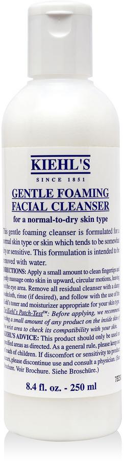 Kiehl's Gentle Foaming Facial Cleanser, 16.9oz