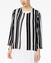 Alfani PRIMA Striped Blazer, Created for Macy's