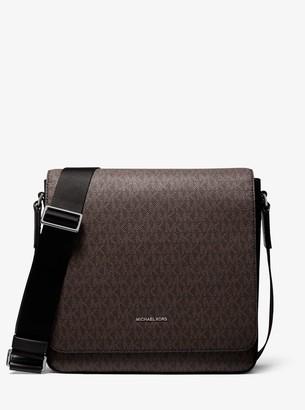 Michael Kors Henry Logo Messenger Bag