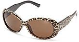 Lucky Brand Del Mar Leopard Sunglasses