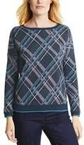 Cecil Women's KEY_Brushed Jacquard Check Pyjama Bottoms