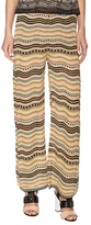 M Missoni Knit intarsia Wide Pant