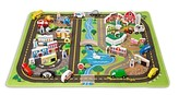 Melissa & Doug Road Rug Play Set - Ages 3+