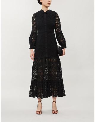 Alexis Eudora cotton-lace maxi dress