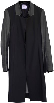 Herve Leger Black Coat for Women