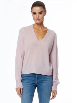 360 Cashmere Nixie Cashmere Sweater - Mallow / S