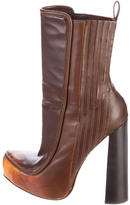 Alexander Wang Round-Toe Ankle Boots