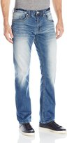 Buffalo David Bitton Men's Six Slim Straight-Leg Jean in Wash