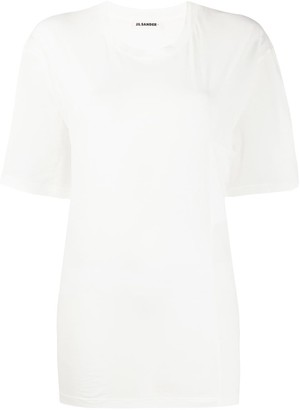 Jil Sander draped-pocket short sleeved T-shirt