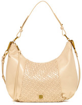 Elliott Lucca Intreccio Leather Hobo Bag