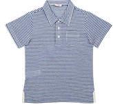 Il Gufo Striped Linen-Cotton Polo Shirt