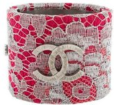 Chanel Lace CC Cuff