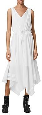 AllSaints Celeste Handkerchief Hem Dress