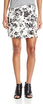 Lucca Couture Women's Floral-Print A-Line Skirt