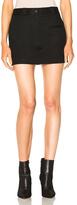 Helmut Lang Mini Skirt in Black.