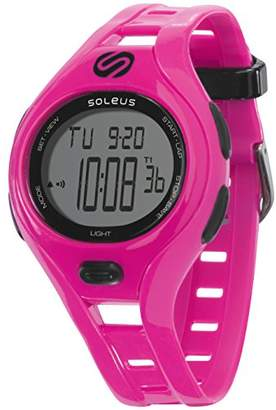 Soleus Women's SR019-600 Dash Small Digital Display Quartz Pink Watch