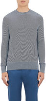 Theory Men's Villings Striped Silk-Cashmere Sweater