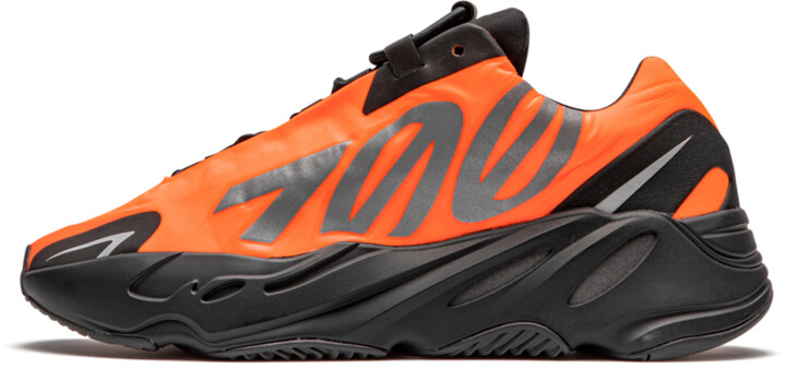Adidas Yeezy Boost 700 MNVN 'Orange' Shoes - Size 4