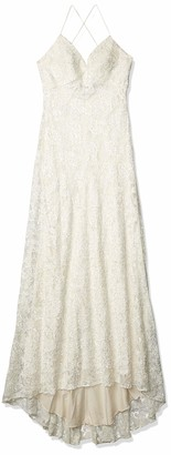 Jenny Yoo Women's Paige Beaded Lace Wedding Gown