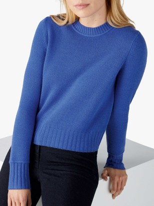 Pure Collection Cashmere Lofty Cropped Sweater