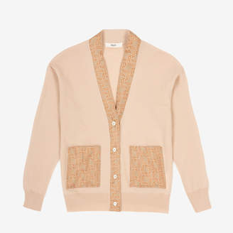 Bally Cardigan With Silk Wings Printed Details