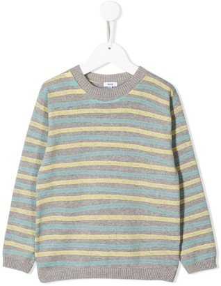 Knot Crew Neck Knitted Sweater