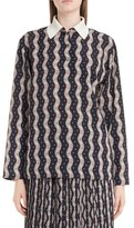Loewe Women's Zigzag Print Blouse
