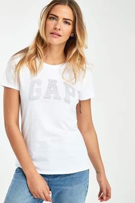 Gap Womens White Shine T-Shirt - White