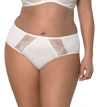 Gorsenia K358 Blanca Women's Briefs Floral Lace Smooth (Matching Bra Available) - Made in EU
