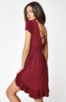 La Hearts Crisscross Back Dress