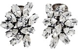 Ben-Amun Women's Swarovski Crystal Cluster Clip Earrings