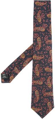 Gieves & Hawkes Paisley Print Tie