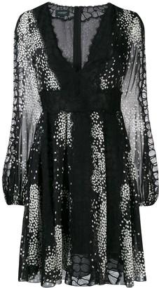 Giambattista Valli short printed dress
