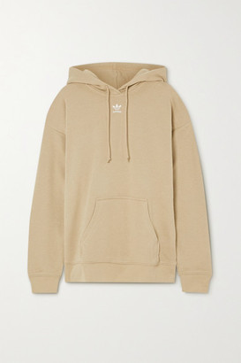 adidas French Cotton-blend Terry Hoodie - Beige